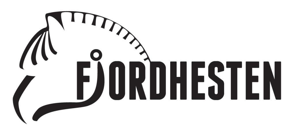 Logo Fjordhesten uten ramme